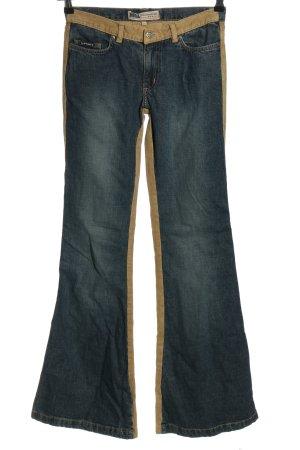 Mogul 094 Advanced Basic Jeans bootcut bleu-brun style décontracté