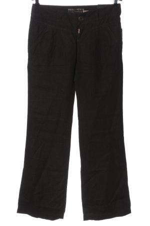 Mogul Luźne spodnie czarny W stylu casual
