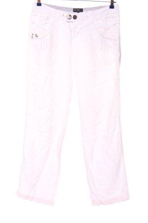 Mogul Leinenhose pink Casual-Look