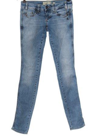 Mogul Jeans a sigaretta blu stile casual