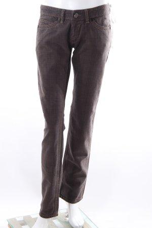 Pantalon taille basse gris anthracite-gris