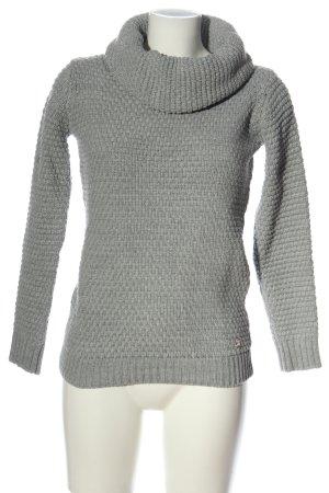 Mogul Turtleneck Sweater light grey casual look