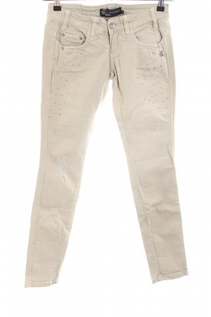 Mogul Slim Jeans creme Casual-Look
