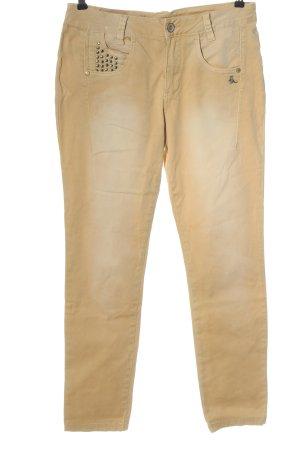 Mogul Jeansy z prostymi nogawkami kremowy W stylu casual