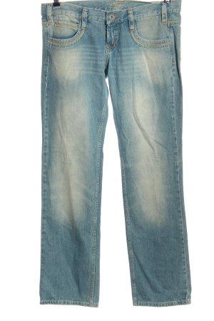 Mogul Jeansy z prostymi nogawkami niebieski W stylu casual