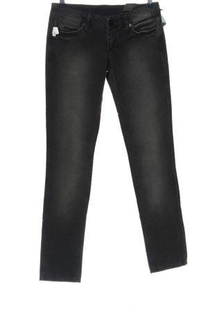 Mogul Jeansy z prostymi nogawkami czarny W stylu casual