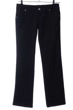Mogul Straight-Leg Jeans schwarz Casual-Look