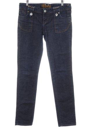 Mogul Jeansy z prostymi nogawkami Wielokolorowy Sprane wykończenie