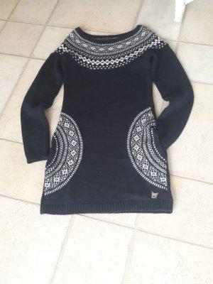 Mogul Abito di maglia nero-bianco