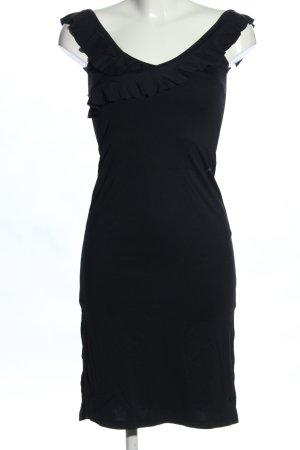 Mogul Wickelkleid schwarz Elegant