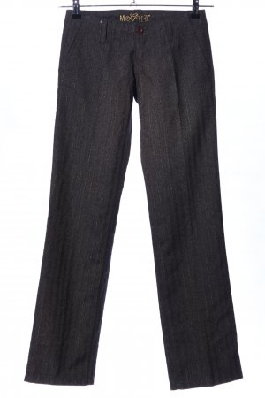Mogul Pantalone di lana puntinato stile professionale