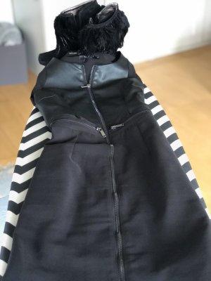 MOHITO Black dress leder (kunst)