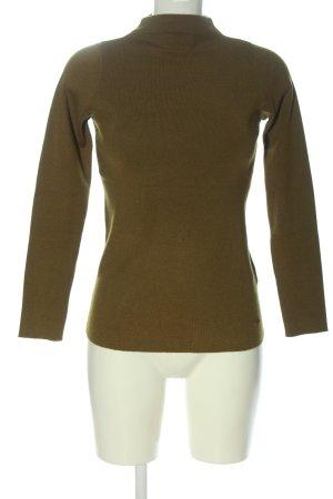 Mohito Fine Knit Jumper khaki casual look