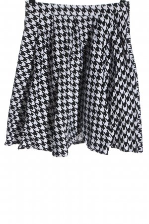 Mohito Flared Skirt white-black allover print casual look