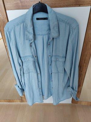 Mohito Jeansowa koszula błękitny