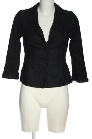 Mohito Short Blazer black-white allover print casual look