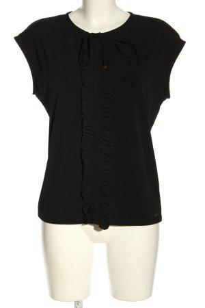 Mohito Short Sleeved Blouse black elegant