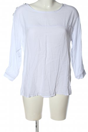Mohito Long Sleeve Blouse white business style