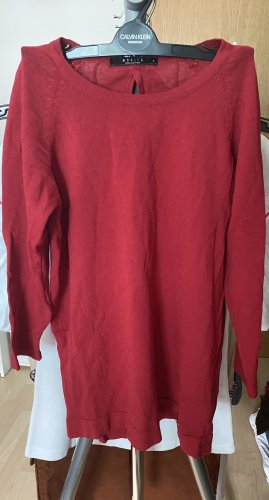 Mohito Long Sleeve Blouse dark red