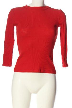 Mohito Chemise côtelée rouge style décontracté