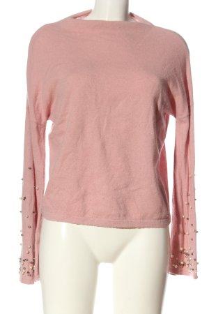 Mohito Maglione girocollo rosa elegante
