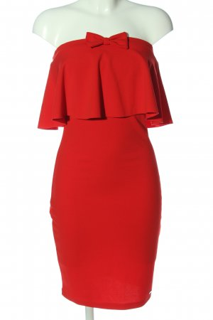 Mohito Off-The-Shoulder Dress red elegant