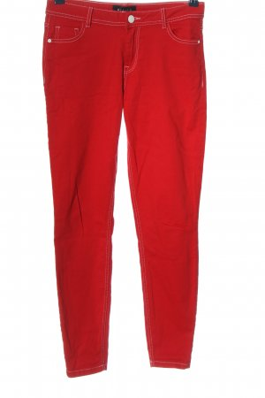 Mohito Skinny Jeans rot Casual-Look