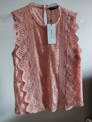 Mohito Lace Blouse dusky pink