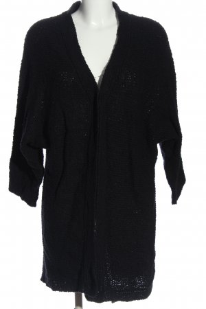 Mohito Knitted Cardigan black casual look