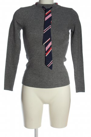 Mohito Knitted Sweater light grey flecked casual look