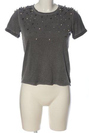Mohito T-Shirt hellgrau meliert Casual-Look