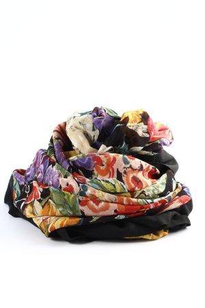 Mohren Folkloristische sjaal volledige print casual uitstraling
