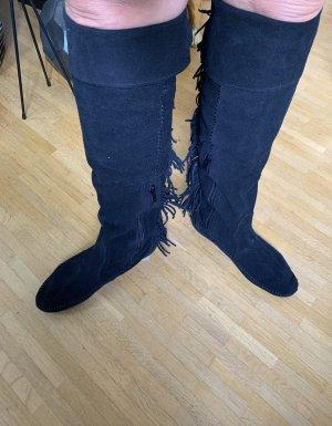 Minnetonka Western Boots black