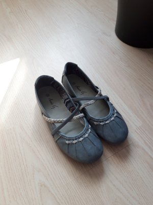 Annie G. Moccasins light grey-grey