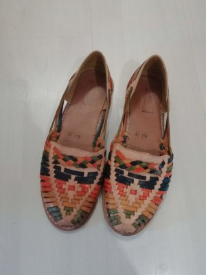 Moccasins multicolored
