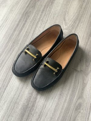 Lauren by Ralph Lauren Mocasines negro-color oro