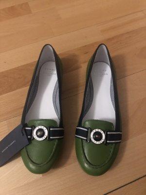 Tommy Hilfiger Mocassins groen-wit