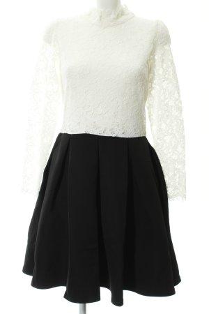 Molly bracken Cocktailkleid schwarz-weiß Elegant