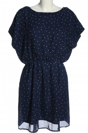 Molly bracken Minikleid blau-weiß Punktemuster Elegant