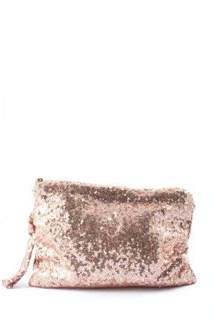 Molly bracken Mini sac rose pailleté