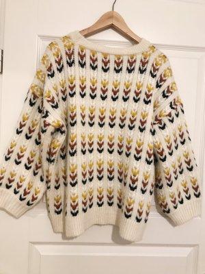 Molly Bracken Pullover Kuschelig Muster Gr 38