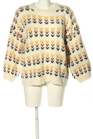 Molly bracken Warkoczowy sweter Warkoczowy wzór W stylu casual