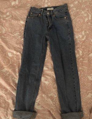 Pull & Bear Boyfriend jeans korenblauw
