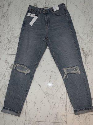 Topshop Jeans boyfriend bleu