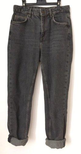 American Vintage Jeansy rurki antracyt