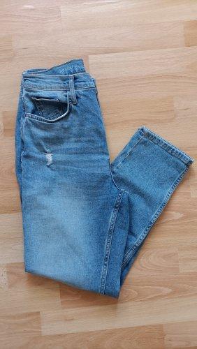 C&A Jeansy 7/8 błękitny-stalowy niebieski