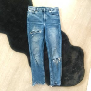 H&M Baggy jeans staalblauw