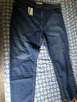 Asos Pantalon taille basse bleu foncé