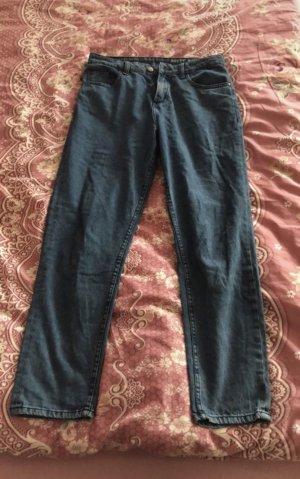 Noisy May Boyfriend jeans staalblauw-korenblauw