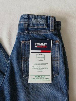 Tommy Hilfiger Vaquero estilo zanahoria azul acero